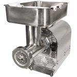 Weston #22 1HP Stainless Steel Pro-Series Meat Grinder & Sausage Stuffer