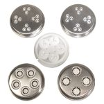 Weston #8 Elec Grinder 5 pc Pasta Kit