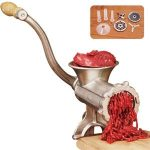 Weston #8 Manual Tinned Meat Grinder