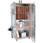 TSM Electric Smokehouse 100 Lb. Stainless Steel Inside Stainless Steel Outside