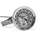 1 3/4″ Dial Thermometer, 8″ Stem