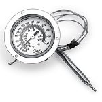 2 1/2″ Dial Thermometer with 4ft. Cable