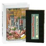 Book & VHS: Great Sausage Recipe Book & Making Sausage at Home (VHS tape)