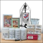 TSM Special Sausage Making Kit with 5 Lb Stainless Steel Sausage Stuffer