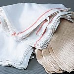 Adcraft Towel Terry Ribbed White