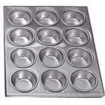 Adcraft Muffin Pan Alum 12 Cup