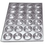 Adcraft Pan Muffin Alum 24 Cup