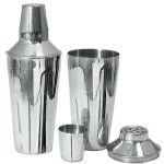 Adcraft 3 Pc. Cocktail Shaker Set