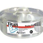 Adcraft Brazier S/S 15 Qt W/Cover