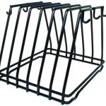 Adcraft Cutting Board Rack 6 Slots Blk