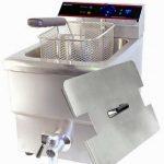 Adcraft Single Tank Deep Fryer w/Faucet