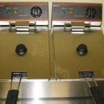 Adcraft Double Tank Deep Fryer