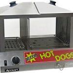 Adcraft Hot Dog Steamer