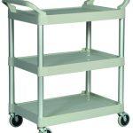 Adcraft Cart 3 Shelves Platnium