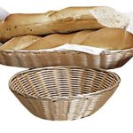 Adcraft Basket Imit Wicker 9″X2-1/2″