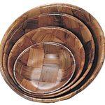 Adcraft Bowls Salad W/Wood 8″