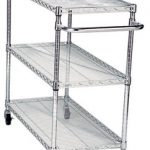 Adcraft Cart 3 Wire Shelves 18″ X 36″