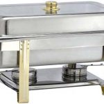 Adcraft 'Gold Riviera' Chafer Oblong
