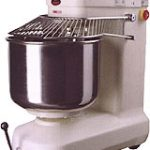 American Eagle Spiral Mixer, Capacity 66Lbs Flour, 110Lbs Dough, 3HpAgitator, 1HpBowl