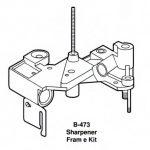 Berkel Sharpener Frame Kit For Berkel Slicers