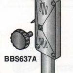 Alfa Adjusting Bar Guide w/ Spring Lock/Parts for Butcher Boy Band Saws