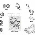 """Alfa Lower Saw Guide with """"V"""" Front/Parts for Biro Band Saws"""