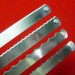 Grasselli 7/16″ W x .022″ thick – Scalloped/Grasselli Slicer Blades