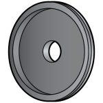 Hobart Steel Grinding Wheel w/Diamond Edge/Parts for Hobart Series 2000 Slicers/Parts for Hobart Slicers
