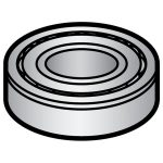 Hobart Ball Bearing (Not included in HM2-615 Kit/Transmission Gear Unit) for Hobart Models A120 and A200 Mixers