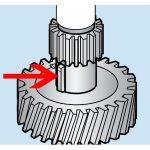 Hobart Key Transmission Gear Unit – Models A120 and A200/Parts for Hobart Mixers