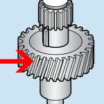 Hobart Bronze Worm Wheel Gear and Brushing (60HZ) Transmission Gear Unit – Models A120 and A200/Parts for Hobart Mixers