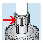 Hobart Steel Gear (15T) Transmission Gear Unit for Hobart Models A120 and A200 Mixers