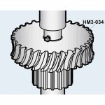 Hobart Bronze Gear Worm (29T/60HZ) Transmission Unit for Model D300/Parts for Hobart Mixers