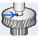 Hobart Worm Gear Shaft Key Transmission Unit for Model D300/Parts for Hobart Mixers