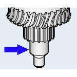 Hobart Worm Gear Shaft Transmission Unit for Model D300/Parts for Hobart Mixers
