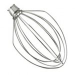 Kitchenaid 5 Qt. SS Wire Whip – NSF/Agitators for KitchenAid Mixers