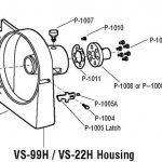 Alfa VS-99H Housing Gasket/Shim