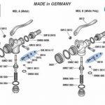 Alfa Schermer Poly Threaded Bottom/Parts for Schermer Sprays