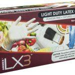AMMEX LX3 Powder Free Latex Industrial Gloves 3 mil Medium