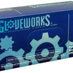 AMMEX Gloveworks, Powdered Latex Gloves 4 mil Medium