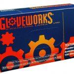 AMMEX Gloveworks, Powder Free Latex Gloves 4 mil Medium