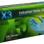 AMMEX Xtreme, 3 mil Nitrile Powder Free Gloves XXL