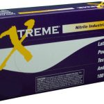 AMMEX Xtreme, Nitrile Powdered Gloves 4 mil Medium