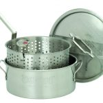 Bayou Classic 10-Qt. Fry Pot, Lid, Basket, Thermometer