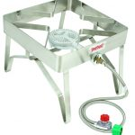 Bayou Classic Stainless Patio Stove, 16″x16″, 10 psi