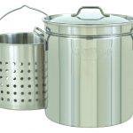 Bayou Classic 36-Qt. Steam/Boil/Fry Stockpot, Lid, Basket