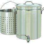 Bayou Classic 10-Gal. Steam/Boil w/ Spigot, Basket, 40-Qt.