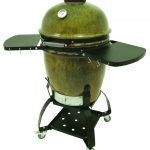 Bayou Classic Cypress Grill with Cart and Side Shelves (cover not included)