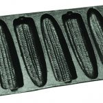 Bayou Classic Cast Iron Cornbread Pan, 12″l x 5″w