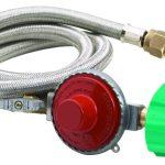 Bayou Classic 10 PSI Reg, Valve, 48″ stainless braid hose
